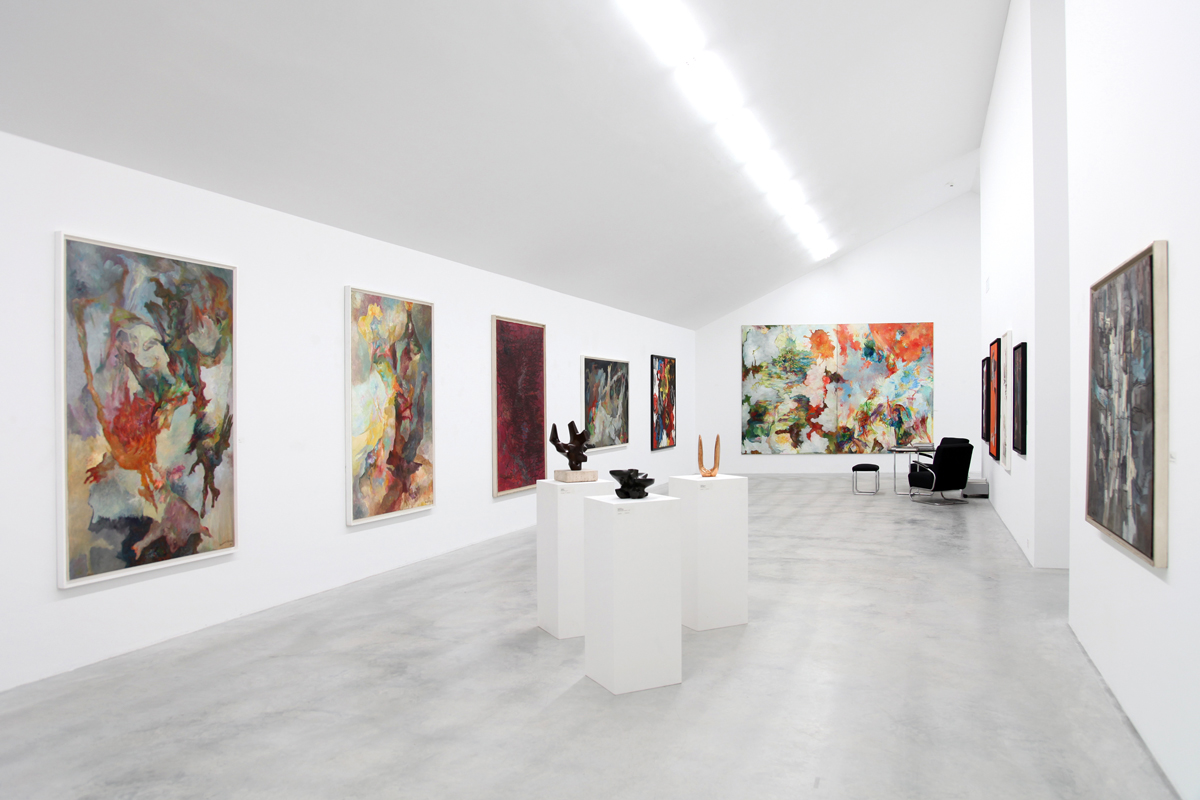 Das Kunst-Depot, Teil ihrer Galerie in Wichtrach bei Bern, (Foto: Galerie Henze & Ketterer)