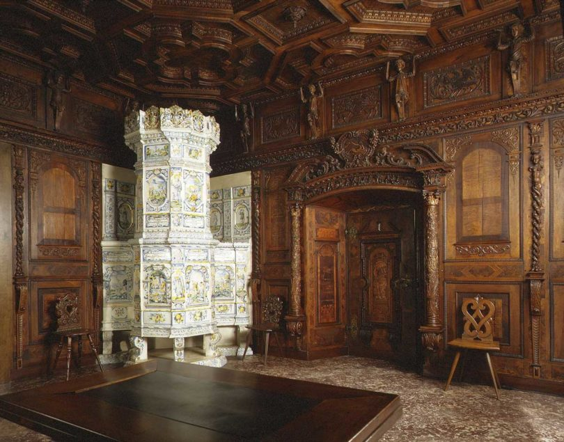 Ofen, Fayence, Winterthur, 16. Jh. (Foto: The Metropolitan Museum of Art, New York)