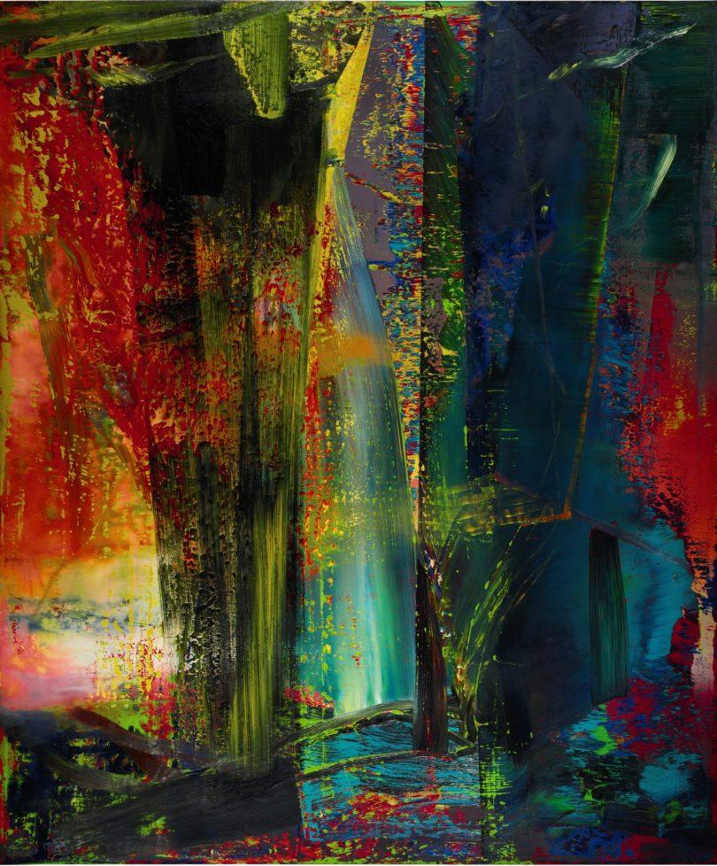 »Abstraktes Bild« (Nr. 599) von 1986 wurde im Februar 2015 bei Sotheby's in London für 36,3 Millionen Euro versteigert. (Foto: Sotheby's, London)