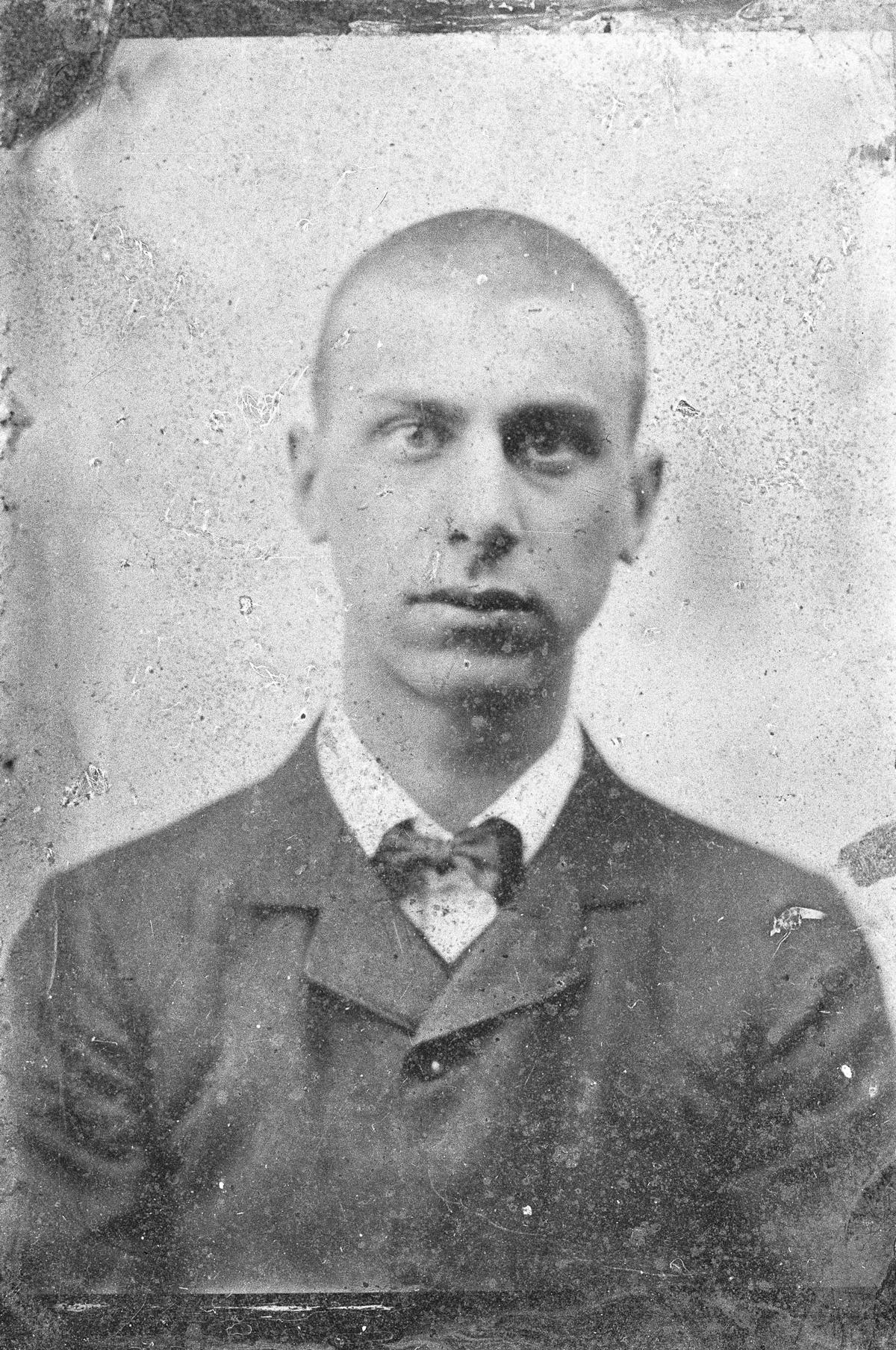 Richard Gerstl, um 1902/03, Fotografie, Archiv Otto Breicha / Richard Gerstl, (Foto: Archiv Otto Breicha / Richard Gerstl)
