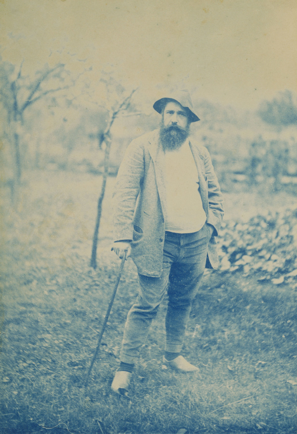 Claude Monet fotografiert von Theodore Robinson, 1888/90 (Foto: Terra Foundation for American Art, Chicago/Art Ressource, NY)