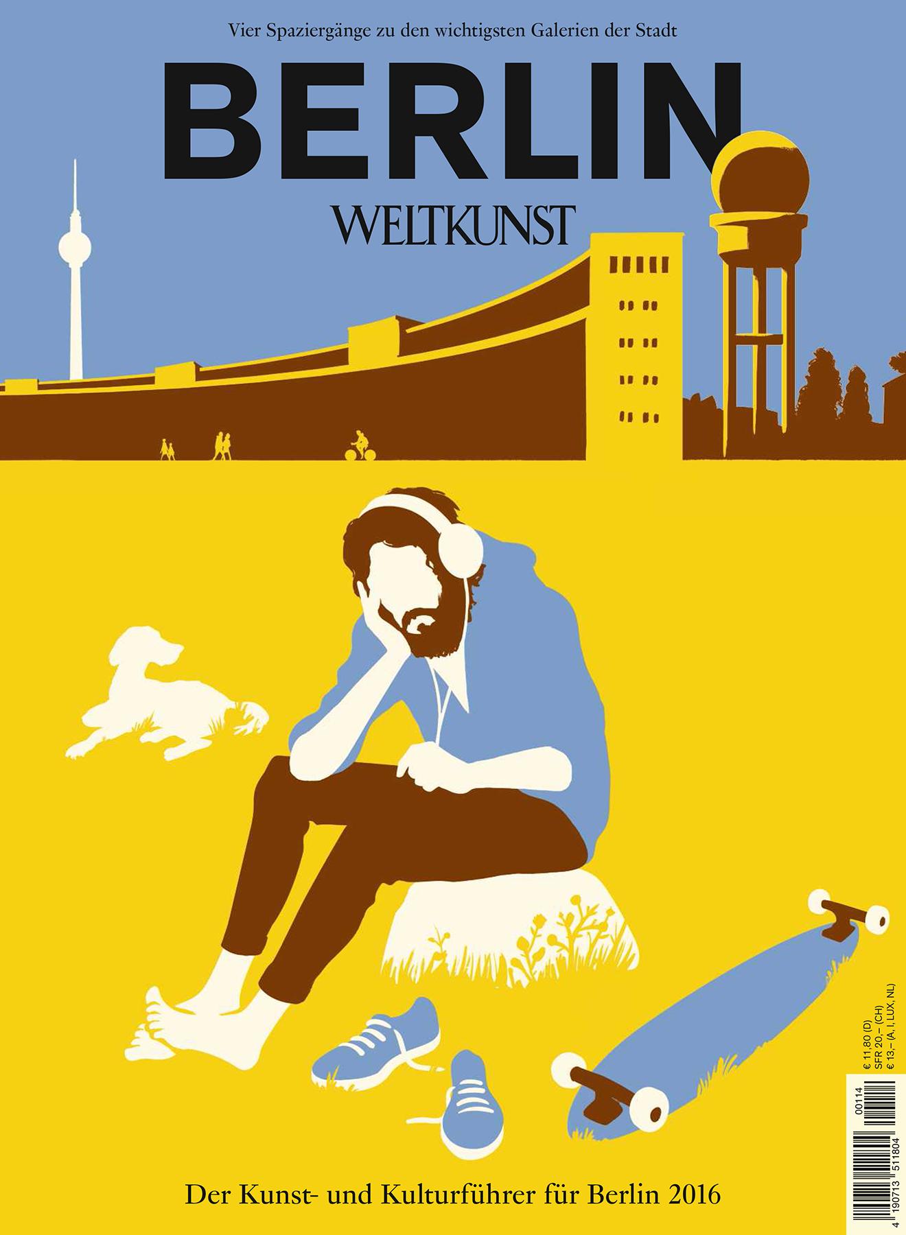 Christoph Niemann, Berlin-Cover nach Geertgen tot Sint Jans, Weltkunst 2016
