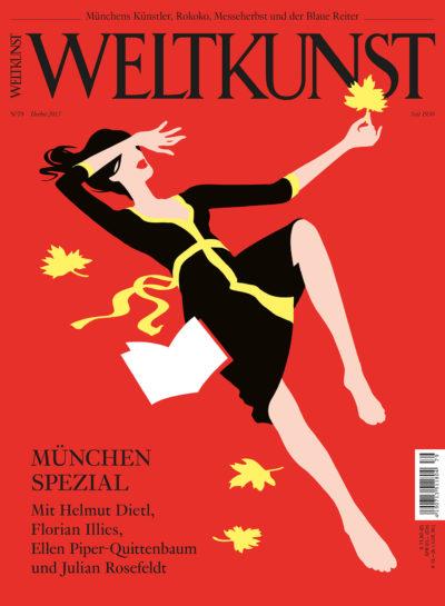 Christoph Niemann, Münchner Kindl, Weltkunst-Cover 2013