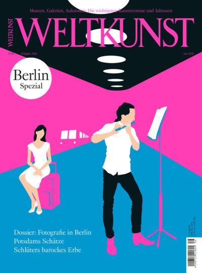 Christoph Niemann, Flötenkonzert nach Adolph Menzel, Weltkunst 2014