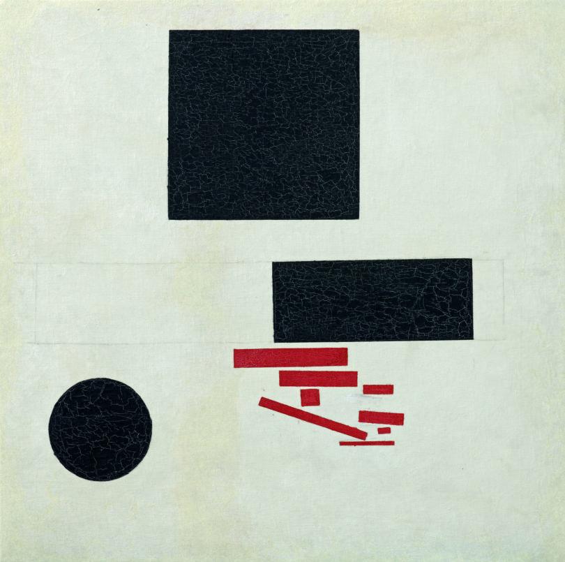 Kasimir Malewitsch strebte den totalen Neuanfang in der Kunst an,