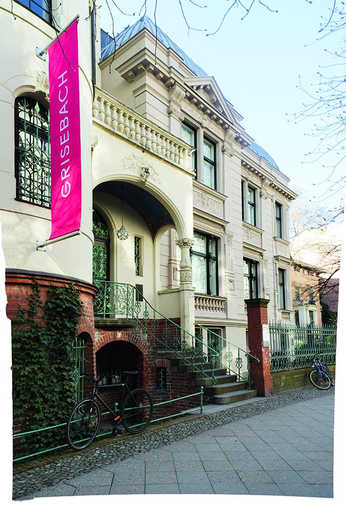 Auktionshaus Grisebach auf der Fasanenstraße (Foto: Nora Ströbel)