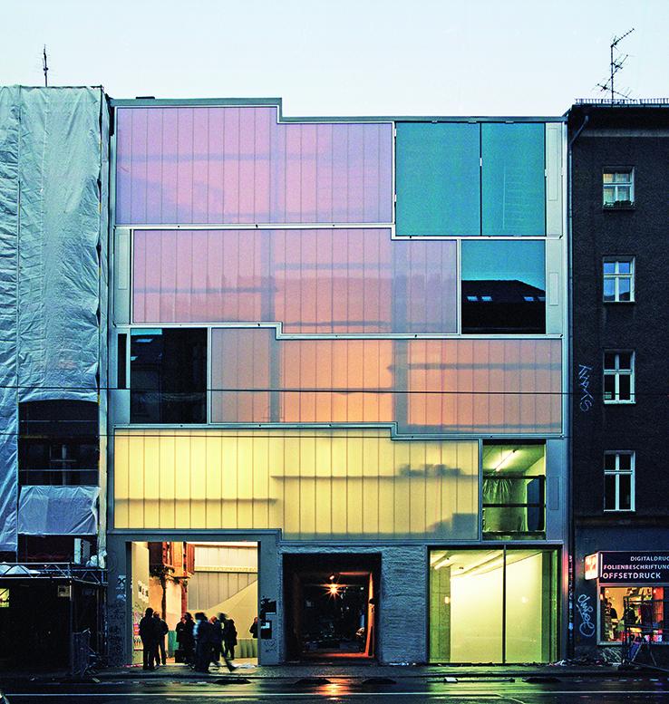 Die Galerie KOW in der Brunnenstraße (Foto: Clemens Vogel)