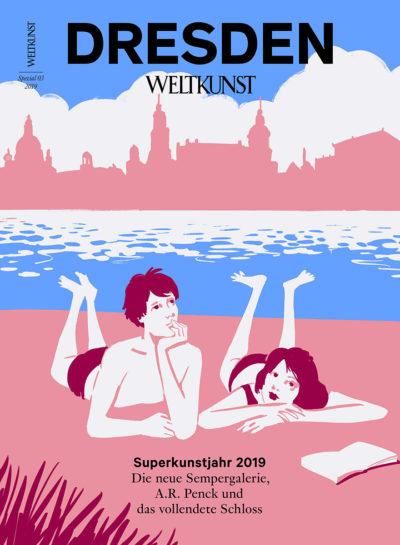 Christoph Niemanns Weltkunst-Cover Dresden 2019