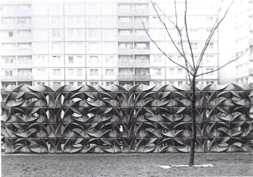 Wand in Berlin-Marzahn: Archiv Karl-Heinz Adler / Friedrich Kracht