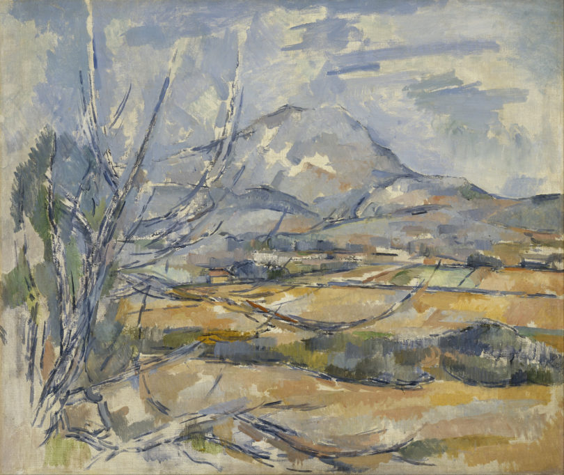 Paul Cézanne, Ansicht Montagne Saint-Victoire, 1890–1895 (Foto: Scottish National Gallery, Edinburgh)