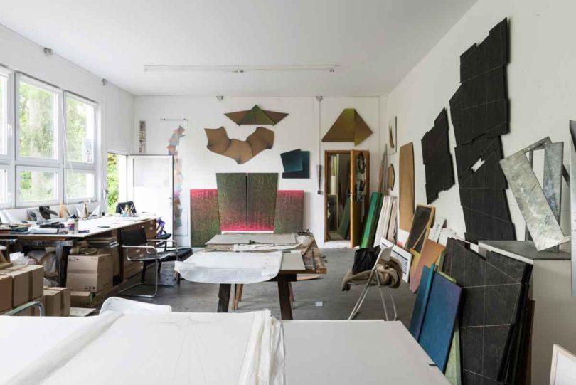 Adlers Atelier in der Dresdner Südstadt (Foto: Wolfgang Stahr)