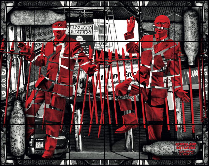 """Kingsland Butchers"" (2013) (Foto: Gilbert & George)"