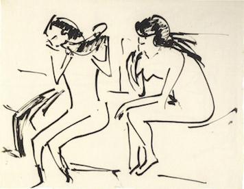 Ernst Ludwig Kirchner (Aschaffenburg 1880 – 1938 Davos):