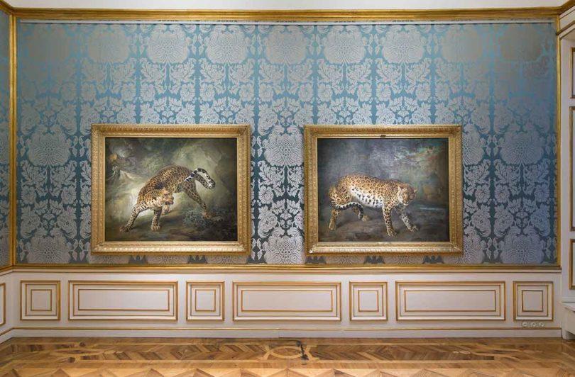 Meisterwerke der barocken Tiermalerei von Jean-Baptiste Oudry im Schloss Ludwigslust (Foto: Michael Setzpfandt/Staatliches Museum Schwerin)