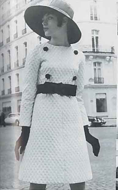 Christian Dior by Marc Bohan, Kollektion Herbst / Winter 1965/1966, Kleid