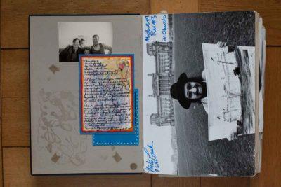 Michael Cullen, New Yorker Historiker, Publizist und Kunsthändler, brachte Christo 1971 auf die Idee, den Reichstag zu verpacken. 1995 wurde das Projekt verwirklicht (Foto: Nora Ströbel)