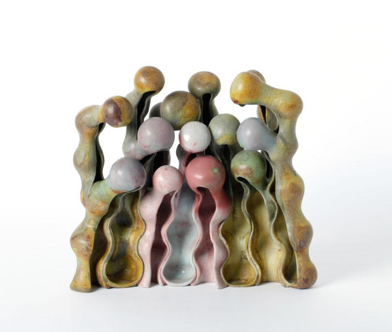 Eine Gruppe von poppig bunten Wesen aus dem Jahr 1988 Credit: Beate Kuhn: Die Neue Sammlung – The Design Museum (A. Laurenzo)