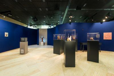 Der neue Ausstellungspavillon in der Berliner Firmenzentrale von 50Hertz (Copyright: Nationalgalerie – Staatliche Museen zu Berlin / Foto: André Wunstorf)