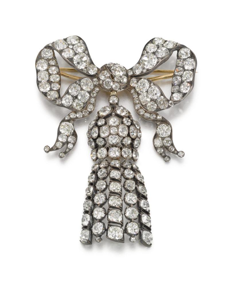Diamantbrosche / Anhänger, Mitte 19. Jahrhundert, Taxe £25,000-35,000 Photo: Sotheby's