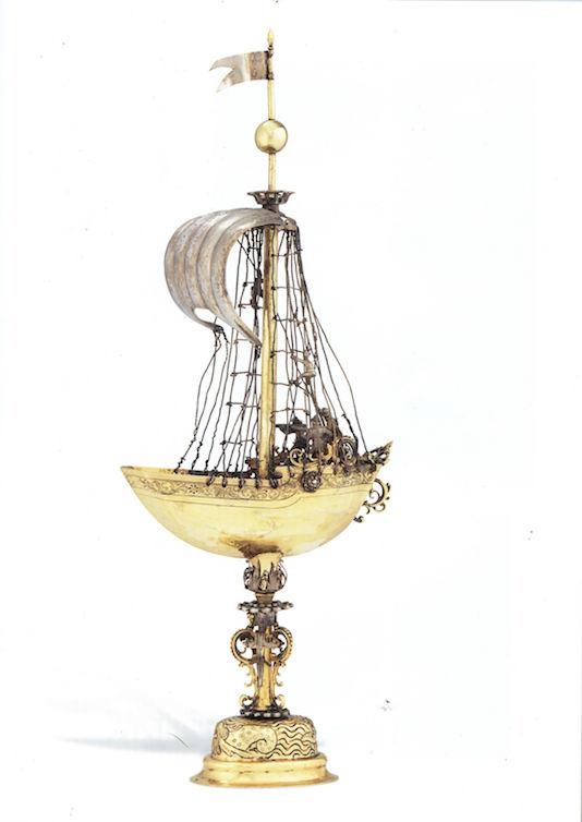 Tobias Wolff, Schiffspokal, Anfang 17. Jh. Abbildung aus dem Christie's-Katalog