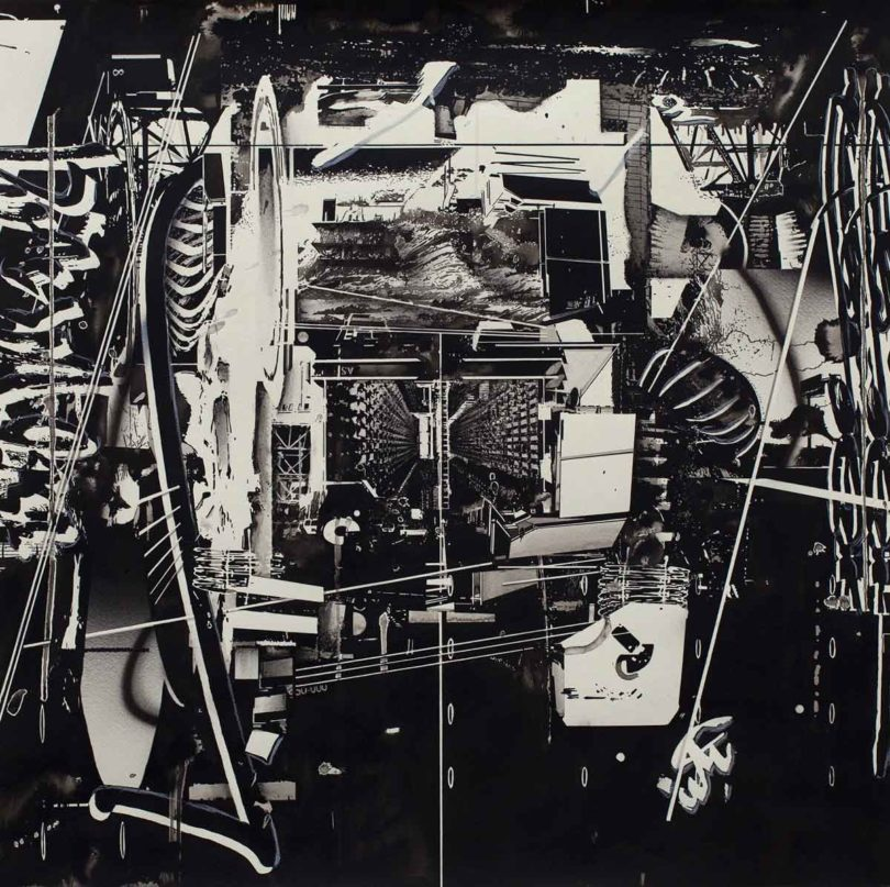 Hiroki Tsukuda (* 1978), o.T., Tusche und Kohle, 2017 (Abb.: Neuer Aachener Kunstverein)
