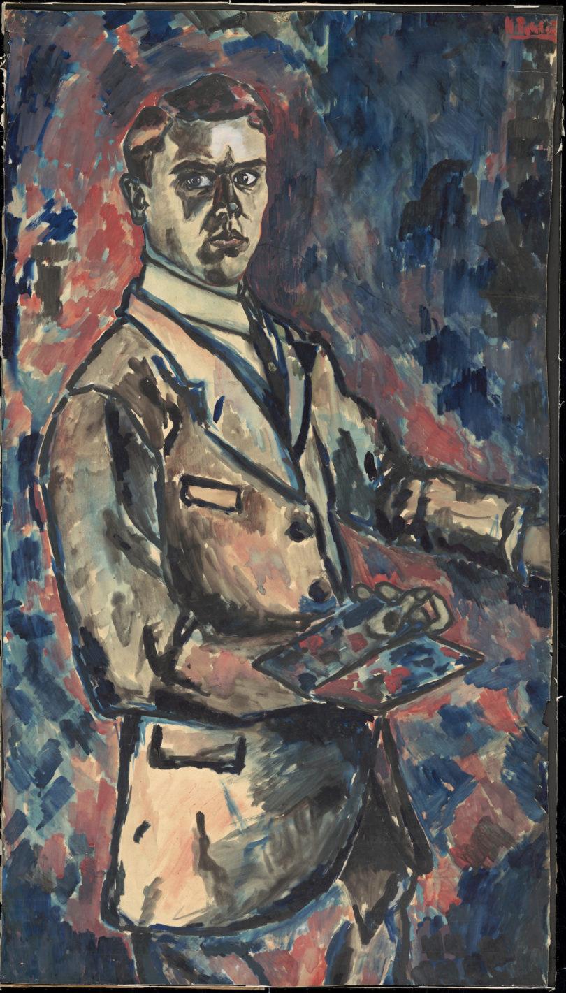 """Hans Pels-Leusden, """"Selbstbildnis"""", 1925, Privatsammlung"""