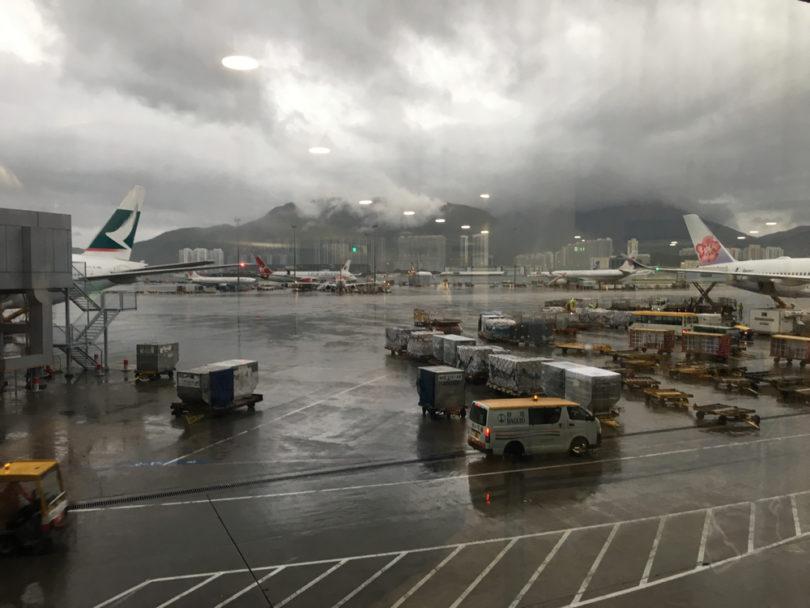 Felix Kiesslings Ankunft in Hongkong