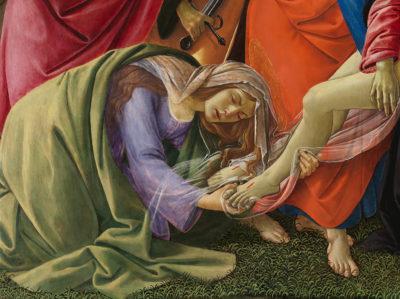 Sandro Botticelli, Beweinung Christi