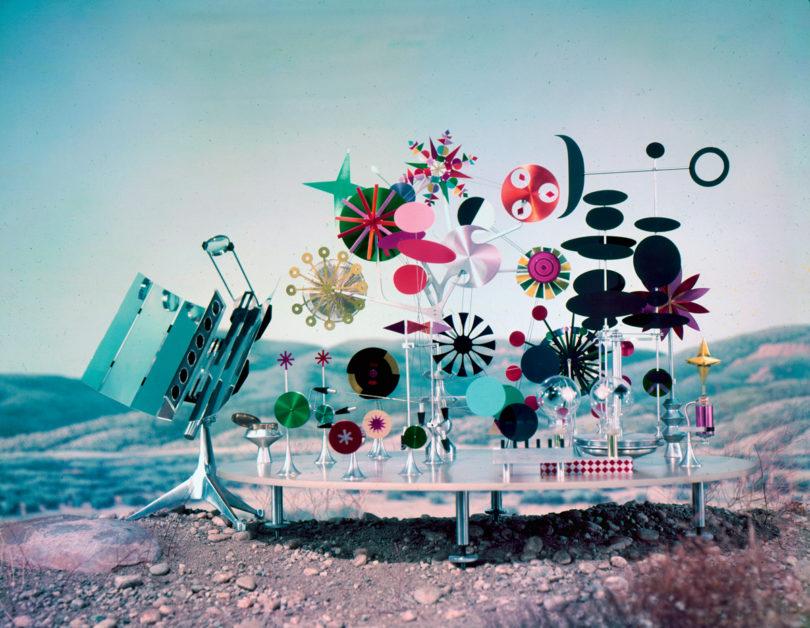Großer Spaß oder Vorwegnahme des Solarzeitalters? Die »Solar Do-Nothing Machine« aus dem Jahr 1957 (Copyright: Eames Office LLC)