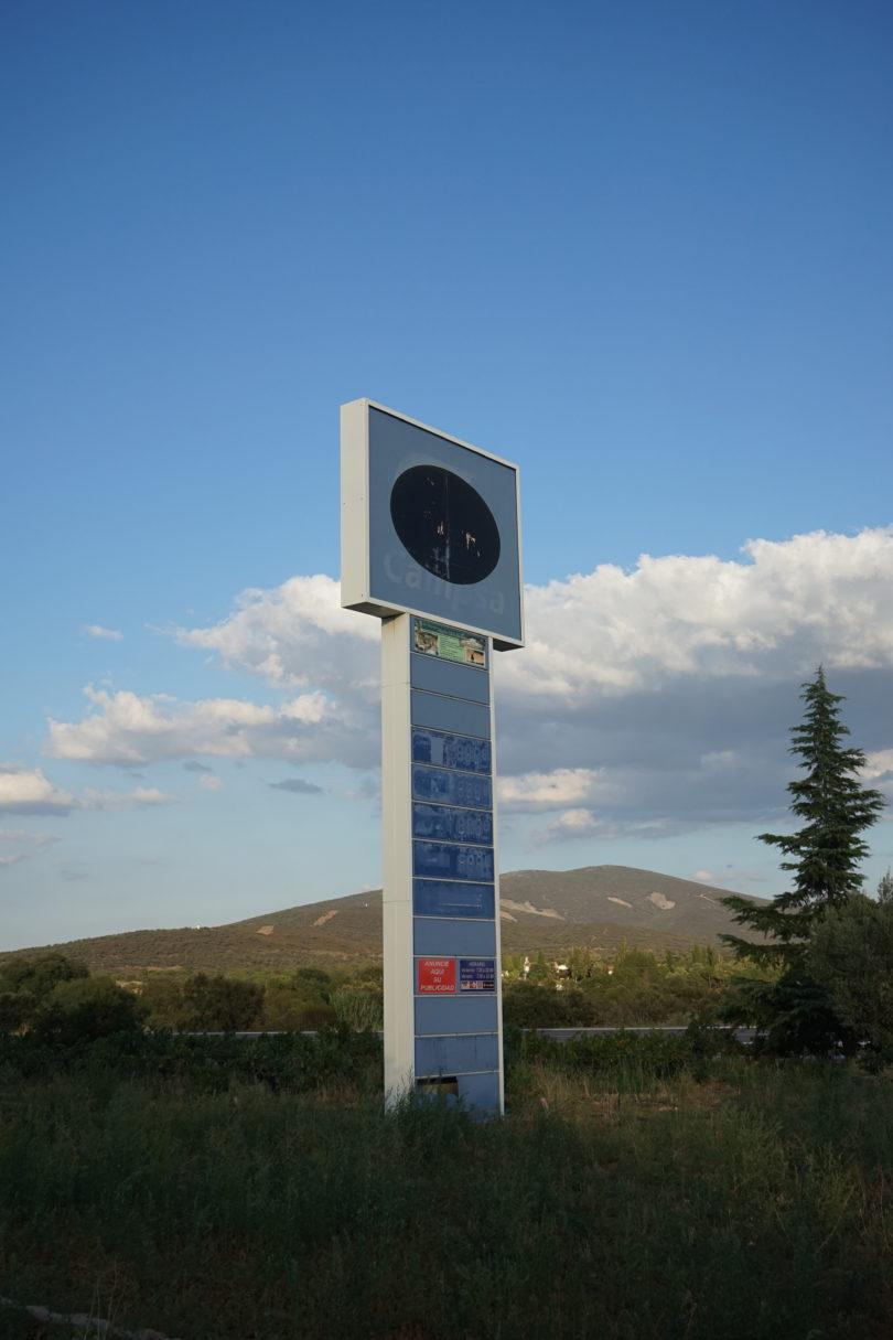 Letzte Tankstelle vor dem Ziel von Felix Kiesslings Reise um die Erde