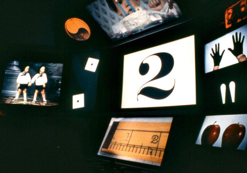 Ausstellungsansicht des IBM-Pavillons »Think« für die Weltausstellung in New York, 1964/1965 (Copyright: Eames Office LLC)