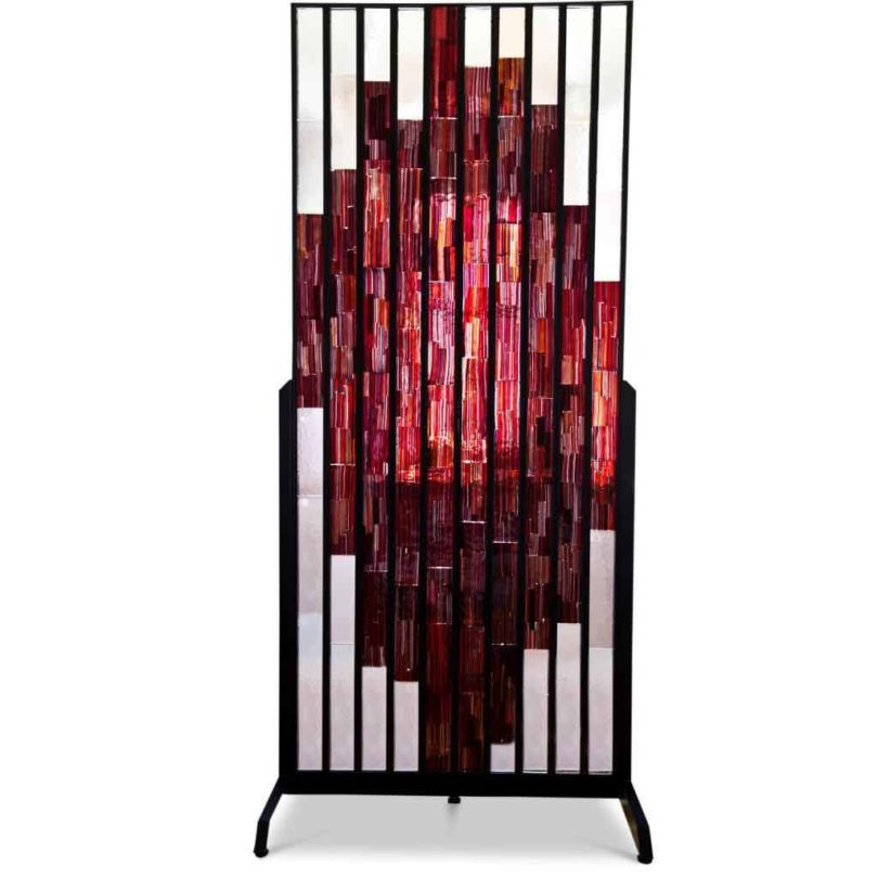 Paolo Venni, Paravent Kunstglas, 1957 (Abb.: Ehrl Fine Arts & Antiques, Greding)