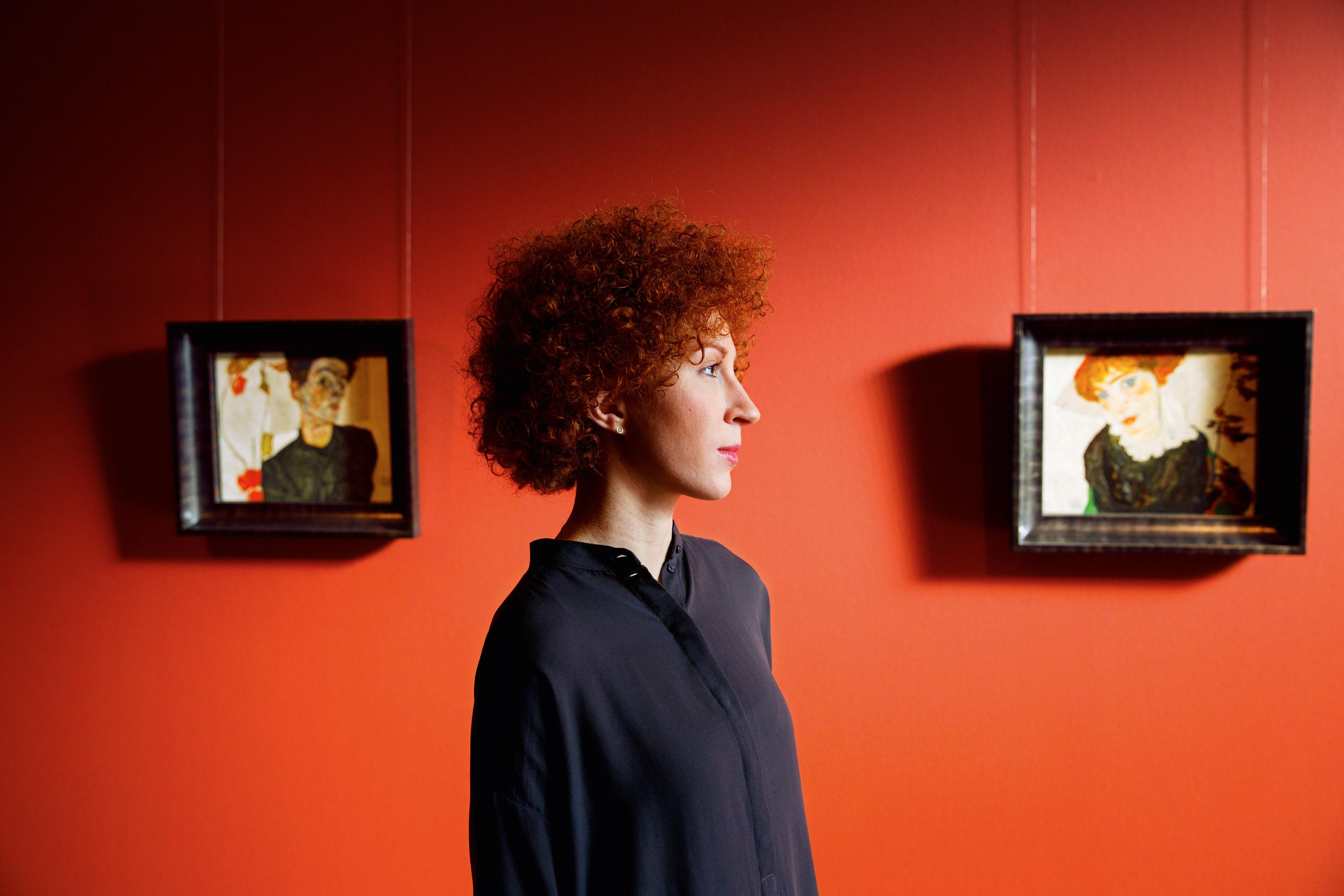 Egon Schiele im Leopold Museum, Wien. Foto: Peter Rigaud