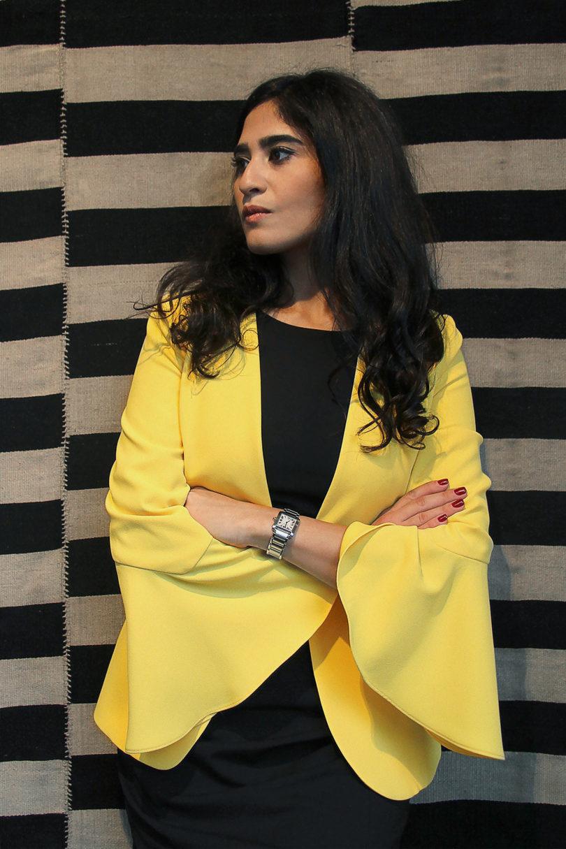 Anahita Sadighi betreibt seit 2015 die Galerie