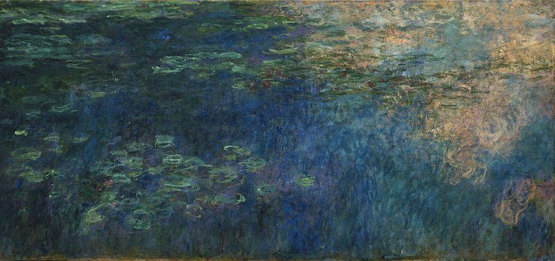 Claude Monet, Water Lilies, 1914-26, Foto: Wikimedia