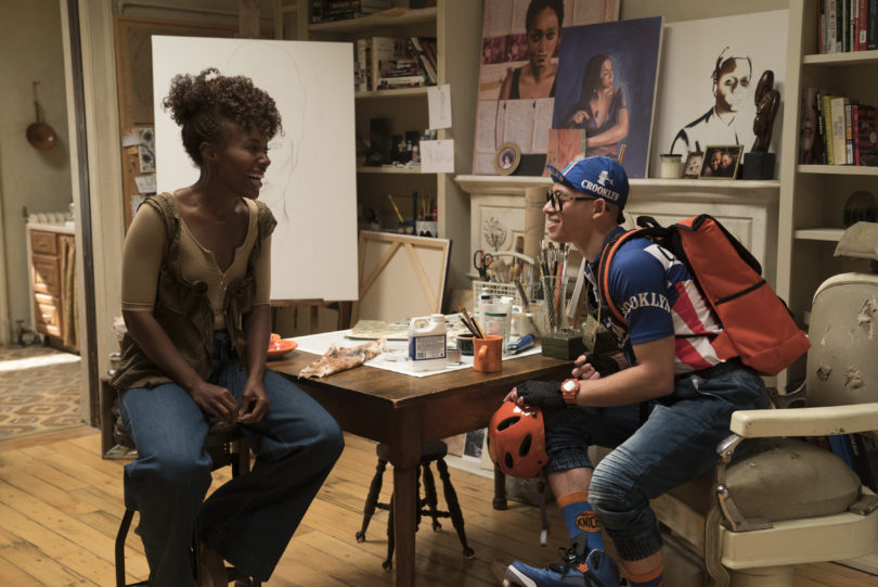 Nola (DeWanda Wise) und Mars (Anthony Ramos). Foto: David Lee/Netflix
