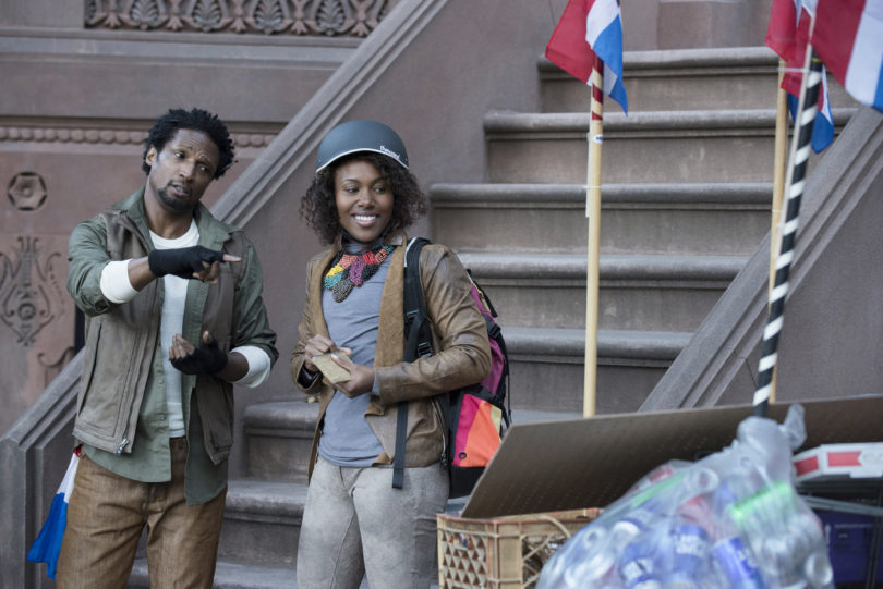 "Nola (DeWanda Wise) mit Papo (Elvis Nolasco), dem ""mayor"" von Fort Greene. Foto: David Lee/Netflix"