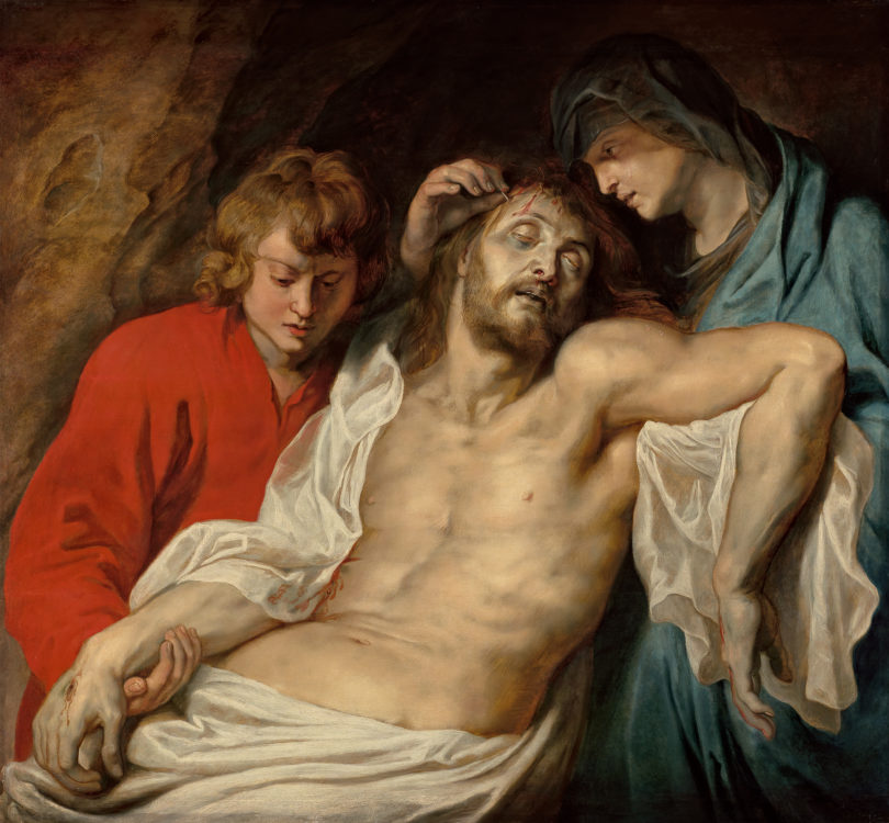 Rubens, Die »Beweinung Christi«, 1614–1615, Foto: Hugo Maertens