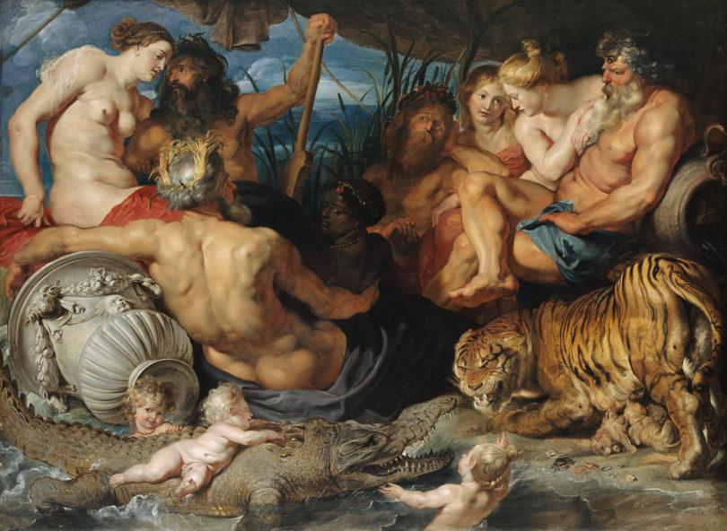"""Rubens, """"Die vier Paradiesflüsse"""", um 1615, KHM-Museumsverband"""