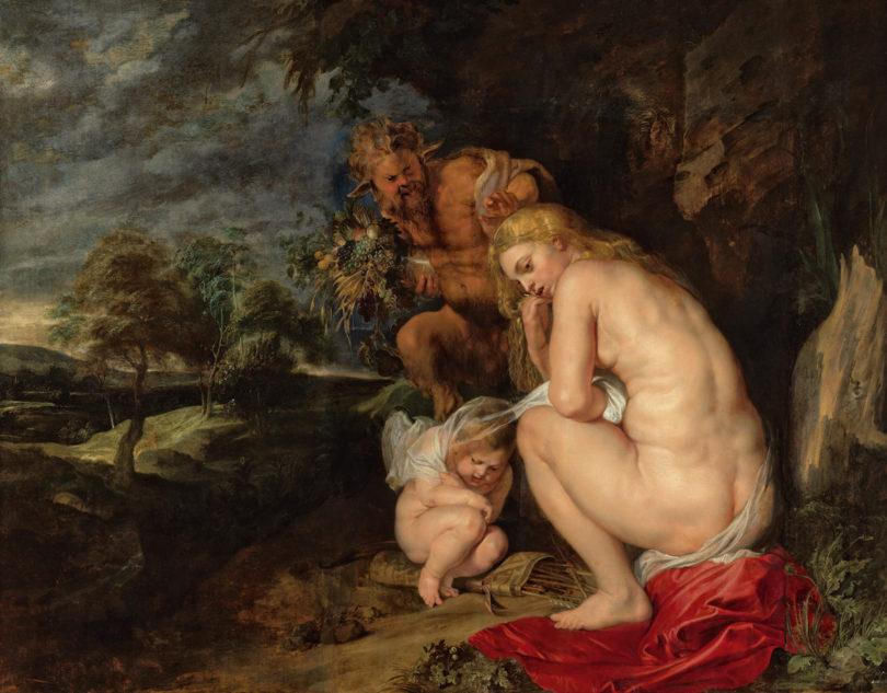 """Rubens, """"Venus Frigida"""", 1614, KHM-Museumsverband"""
