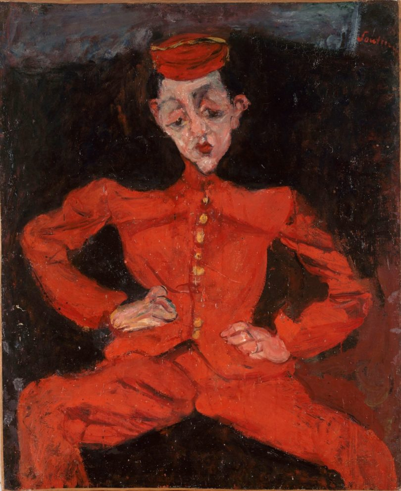 Chaïm Soutine, Bellboy, 1925, Foto: © Courtauld Gallery, Centre Georges Pompidou