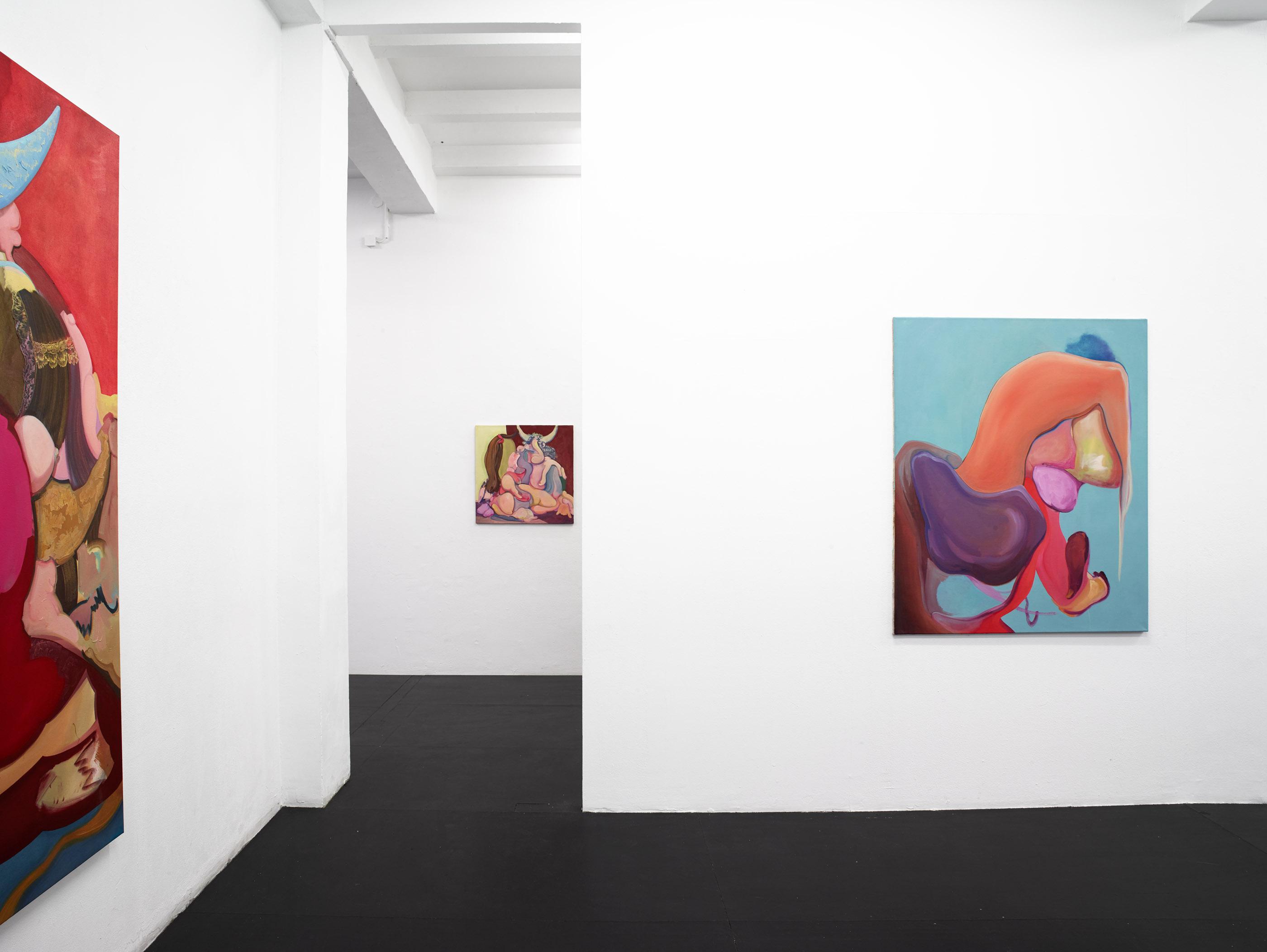 Ausstellungsansicht aus der Galerie Mathias Güntner