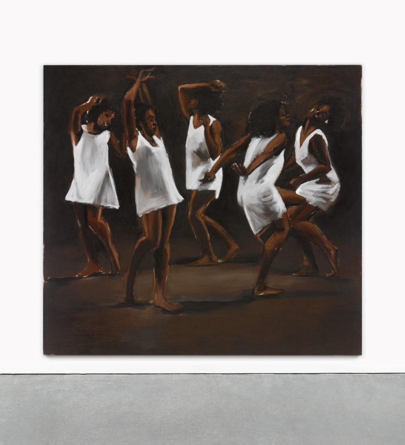 Lynette Yiadom-Boakyes The Hours Behind You (2011) erzielte bei Sotheby's mit 1,3 Millionen Dollar einen Künstlerhöchstzuschlag, Foto: Sotheby's New York
