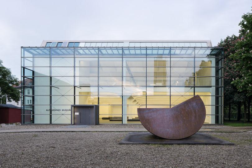 Das Alf Lechner Museum in Ingolstadt, Fischer Architekten © Alf Lechner Stiftung, Foto Werner Huthmacher