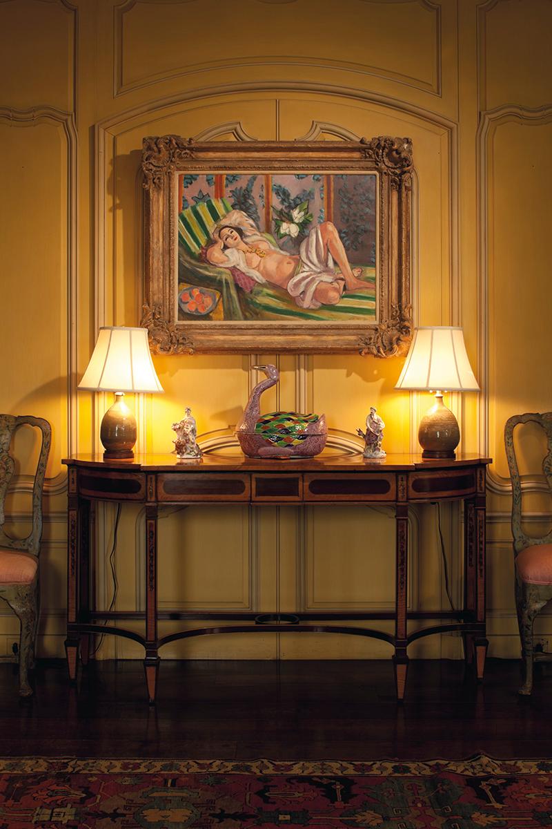 Die Verführerische Odaliske Von Matisse Zierte Das Wohnzimmer Der  Rockefellers In Ihrer Residenz In Hudson Pines. Photo: Christieu0027s