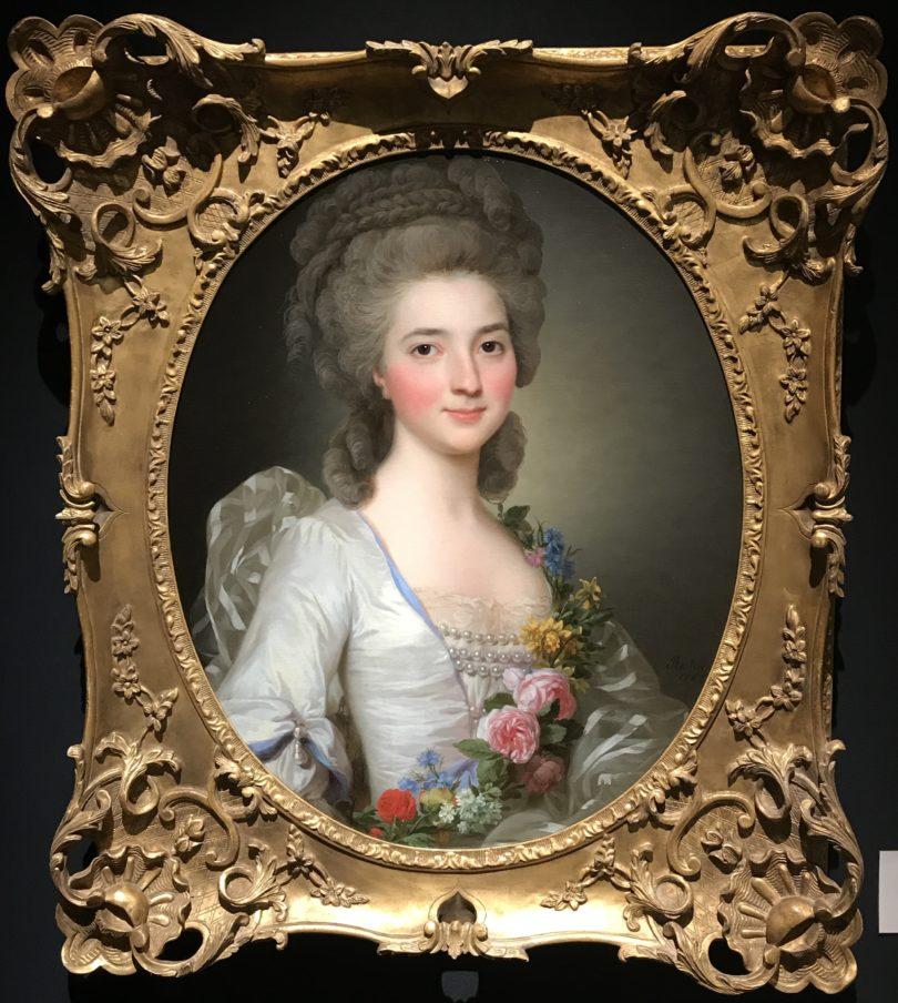 Alexander Roslin porträtierte die Society des 18. Jahrhunderts, darunter die rotwangige Schöne, die mit ihrem Mann bei Åmells aus Stockholm 190.000 Euro kostet