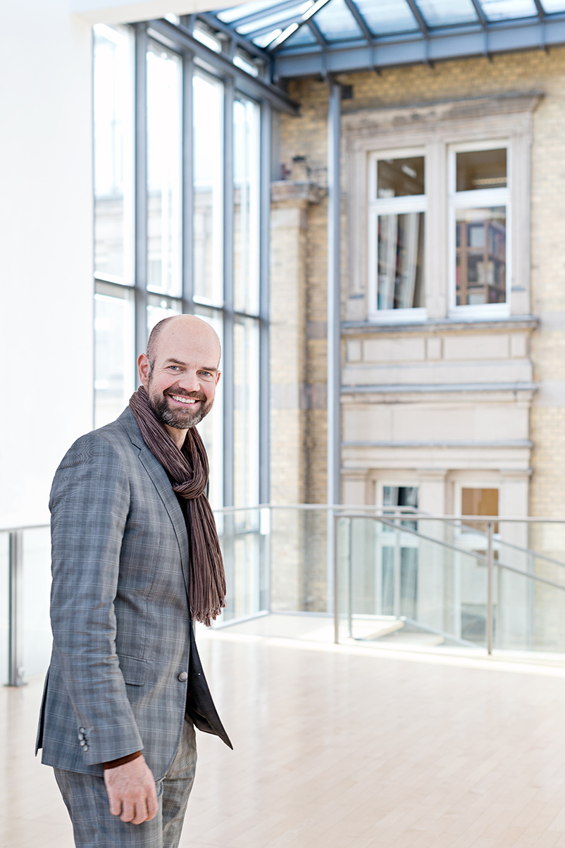 Dirk Pörschmann, Direktor des Museums für Sepulkralkultur in Kassel. Foto: Anja Köhne
