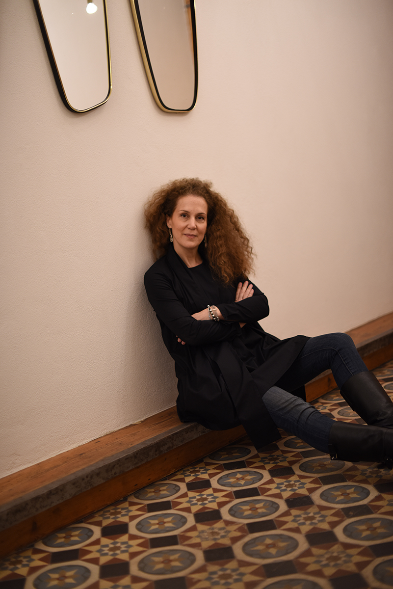 Galeristin Annette Kicken (Foto: © KARI KJØSNES / Courtesy Kicken Berlin & CRUBA)