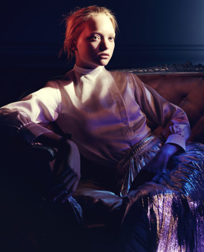 Jil Sander Kampagne Herbst-Winter 2004/2005 Model: Gemma Ward © David Sims