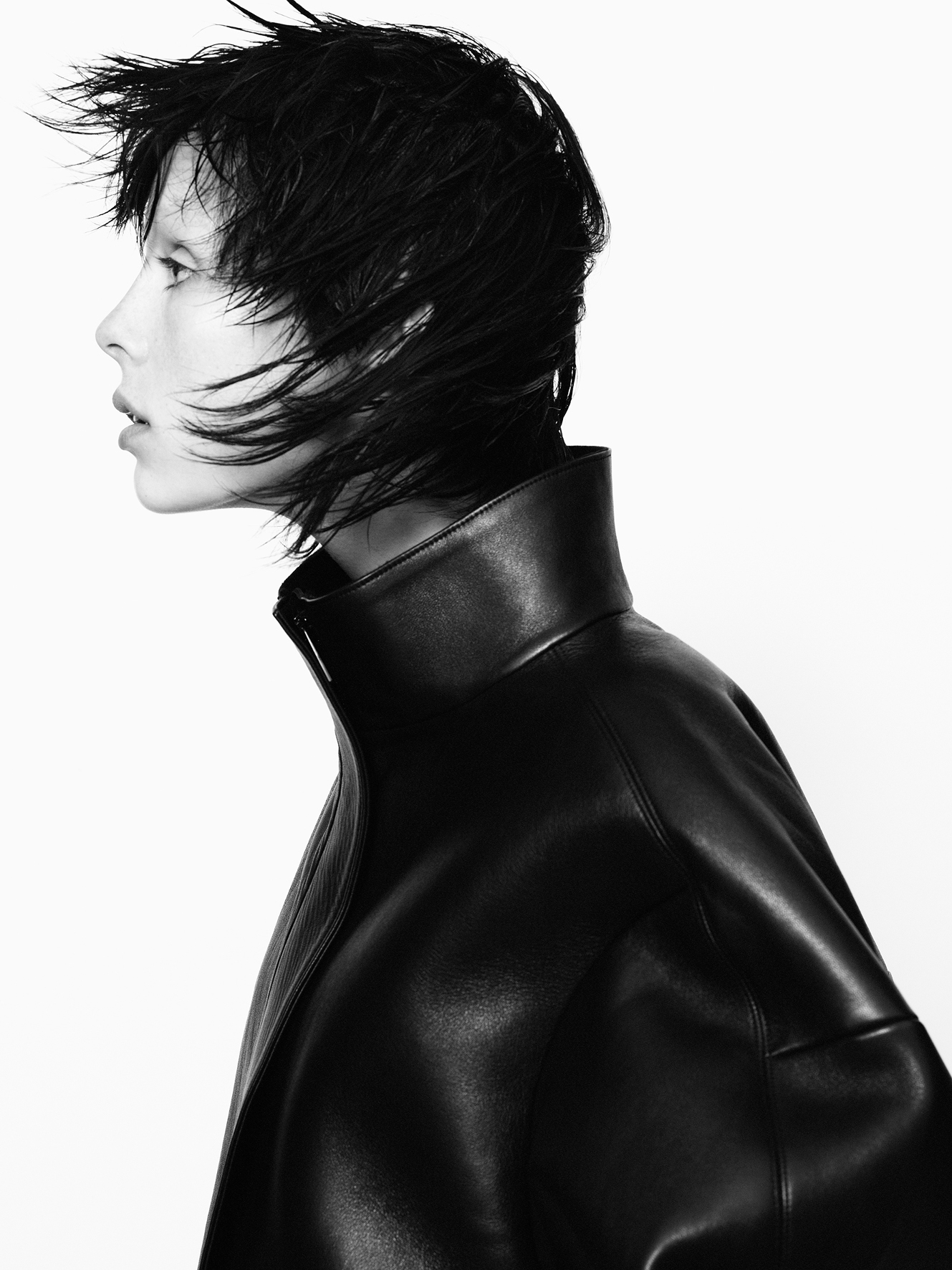 Jil Sander Kampagne Herbst-Winter 2013/2014 Model: Edie Campbell © David Sims